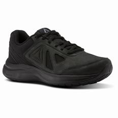 Reebok Walk Ultra 6 DMX MAX RG Womens Black Walking Shoes (466WXFEY)